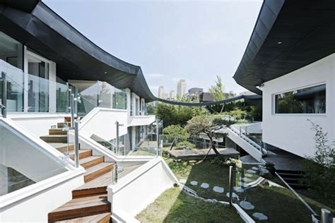 modern home design korea stunning south korean courtyard home balances tradition