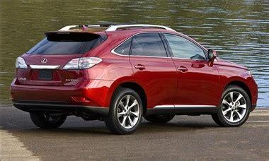 lexus rx 350 invoice lexus rx 350 2011 features prices invoice review