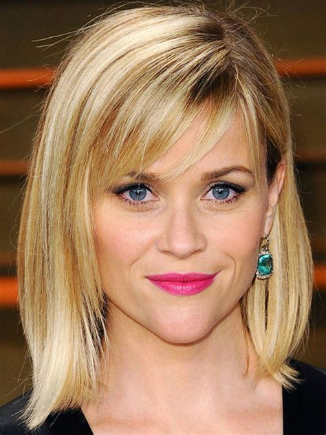 inverted triangle center part hair the best and worst bangs for inverted triangle faces