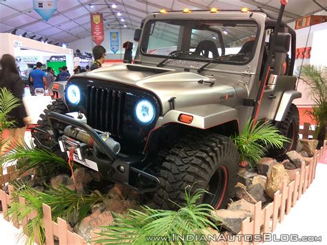 mahindra jeep thar 2017 mahindra thar to be based on an all platform