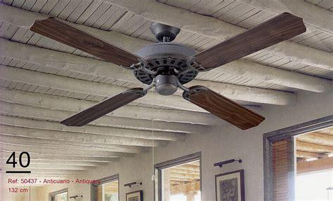 ventiladores de techo antiguos ventilador techo nogal anticuario blog de artesania y