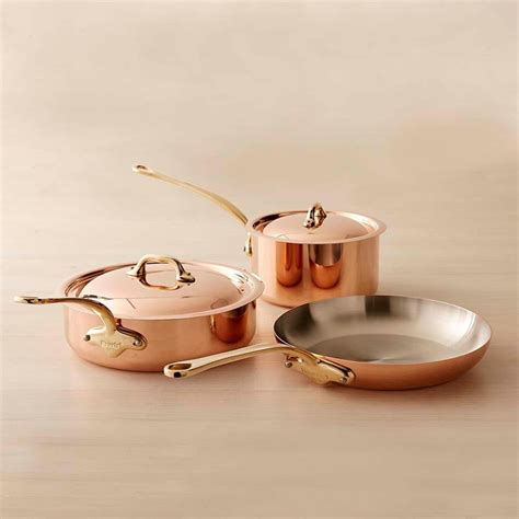 Professional Kitchen Knives mauviel copper 5 piece cookware set small williams