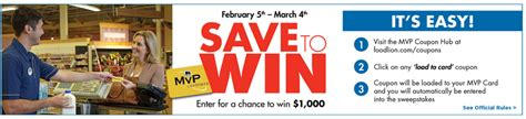 Food Lion Sweepstakes - save today with food lions mvp coupon hub review and giveaway