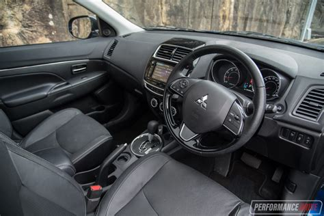 mitsubishi asx 2017 interior 2017 mitsubishi asx xls review performancedrive