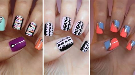 Easy Nail Art For Beginners 7 | easy nail art for beginners 7 youtube