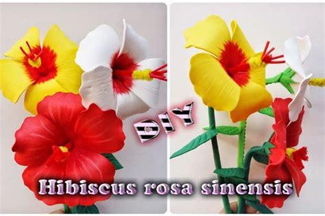 Origami Hibiscus Flower - preciosas flores de goma que puedes hacer t 250 mismo