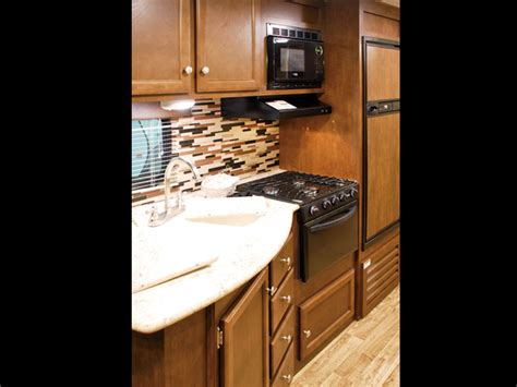 Kitchen Images With Island Sport Trek 312vbhk Bunkhouse Travel Trailer With Outside