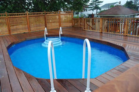 pools  decks  ground pool ideas   budget