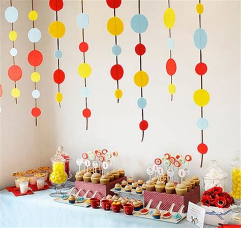 decorating ideas for a birthday room decorating