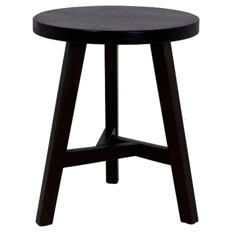 Small Black Bar Stools by End Table Small Stool Threshold Target