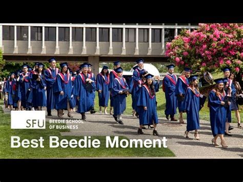 Sfu Mba by Best Beedie Moment Convocation 2017