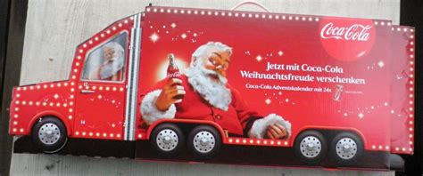 adventskalender coca cola 2016 cola truck sammler de to