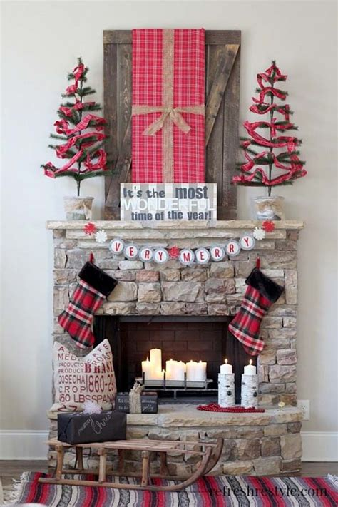 Ballard Home Designs 40 fabulous rustic country christmas decorating ideas