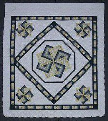 Amish Spinning Quilt Pattern by New Orleans Puzzles And On