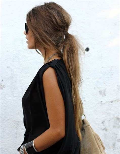 10 lovely ponytail hair ideas for hair easy doing black ponytail hairstyles hairstyles