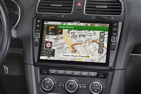 navigationssystem infotainment fuer vw golf  nachruesten