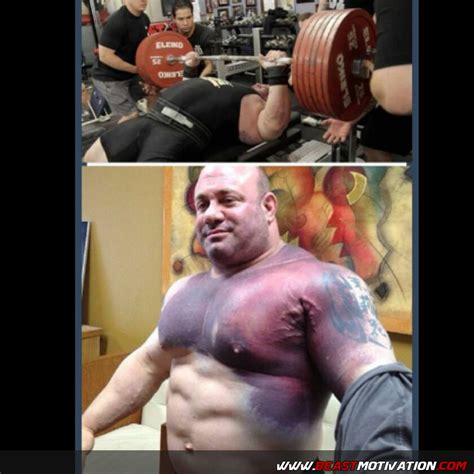 world record bench press beast motivation mendelson after he tore his pec