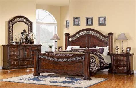 Furniture Warehouse Lyman Sc by Wynwood Alicante Mansion Bedroom Set In Antigua Cherry Bedroom Cherries