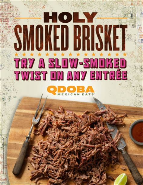 qdoba new years hours qdoba introduces new smoked brisket business wire