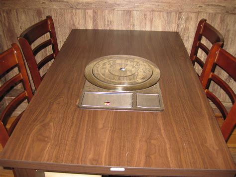 image gallery korean barbecue table
