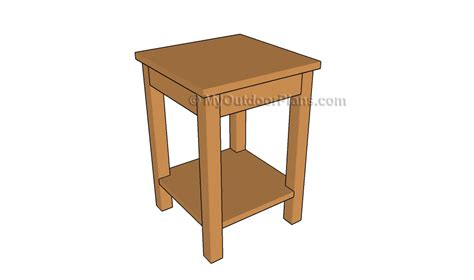 how to build a side table how to build a side table free outdoor plans diy shed