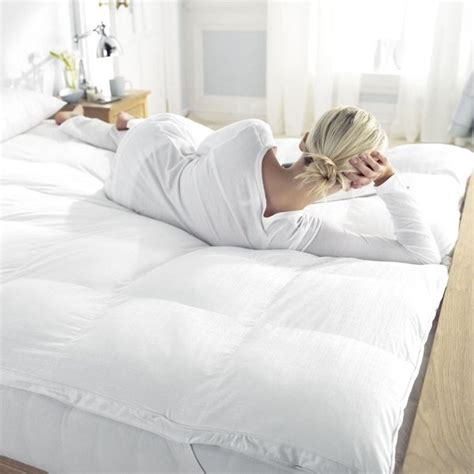 comfortable mattress toppers clusterfull mattress topper