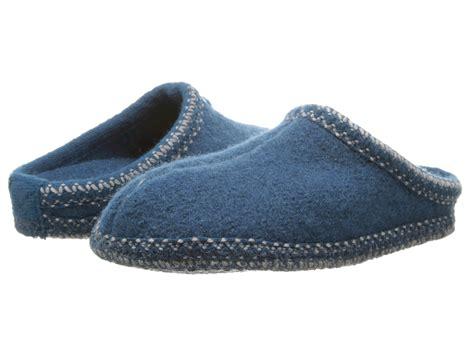 halfinger slippers haflinger as classic slipper teal zappos free