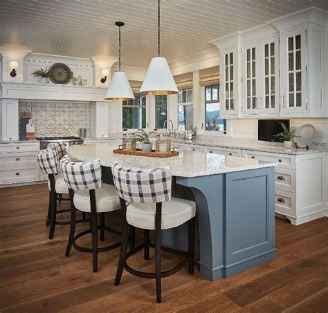 Kitchen Island Colors by 25 Best Ideas About Blue Grey Kitchens On Pinterest