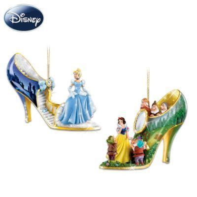 Disney Collection Ornaments - disney characters shoe ornament collection