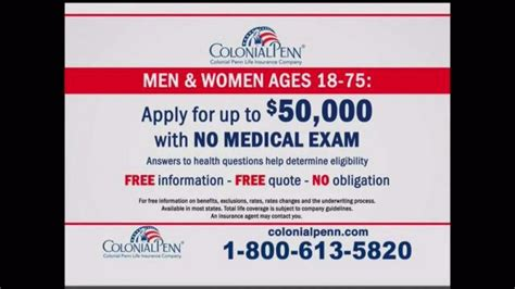 colonial penn insurance phone number colonial penn tv commercial a company who can help