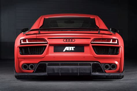 Audi R8 Abt by Abt Shaves 50kg And Adds 20hp To Audi R8 V10 Carscoops
