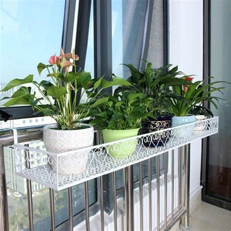 flower pots balcony railings photo balcony ideas 25 space saving ideas creating beautiful balcony designs