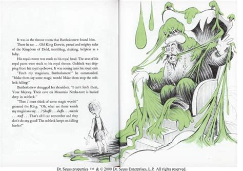 Bartholomew And The Oobleck   Dr. Seuss Books
