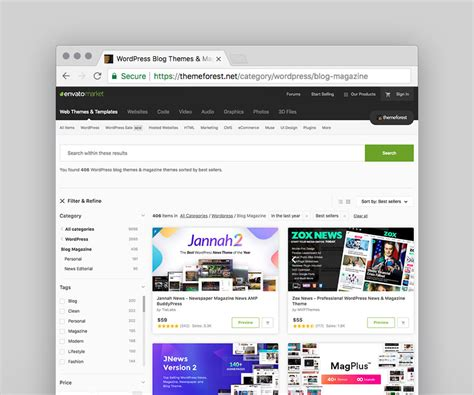 themes wordpress envato best wordpress magazine themes for blog and news websites