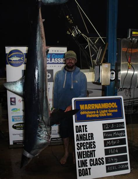 mako boats geelong biggest catch in the history of the shipwreck coast