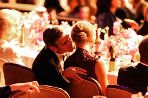 George Clooney Kisses For The Right Price by In October George Clooney Gave Keibler A At