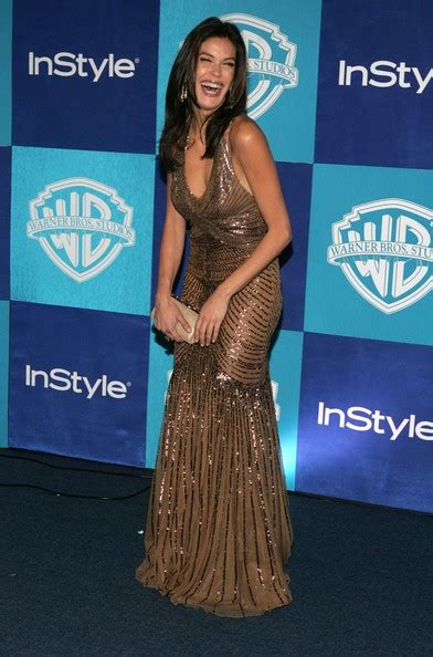 Teri Hatcher At The Golden Globes by Teri Hatcher In Warner Brothers Instyle Golden Globe