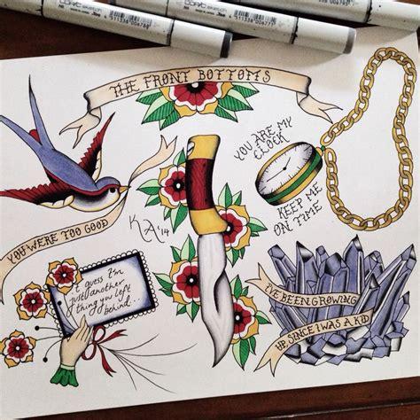 tattooed heart lyrics the front bottoms the front bottoms flash tattoos pinterest the front