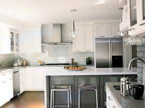 Backsplash For Kitchen With White Cabinet by Modern White Kitchen Backsplash Ideas Home Design Ideas