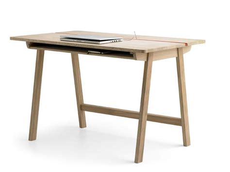 Bureau Desk Modern Wooden Office Desk With Convenient Small Storage Compartments For All Things