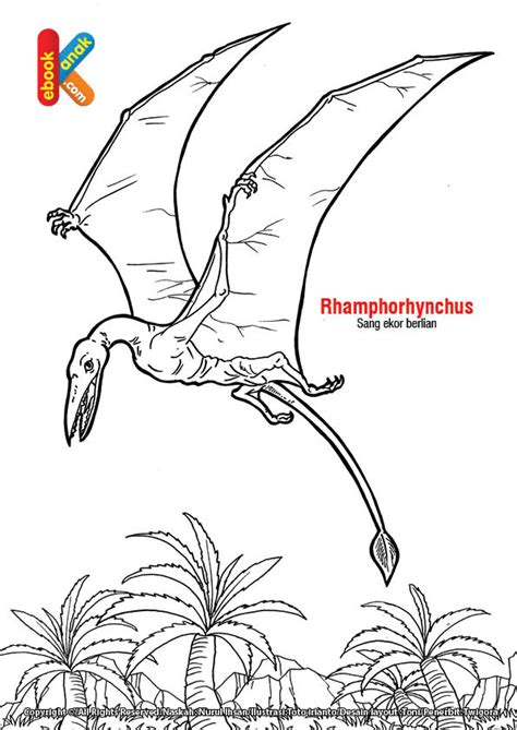 reptil terbang rhhorhynchus si ekor berlian ebook anak
