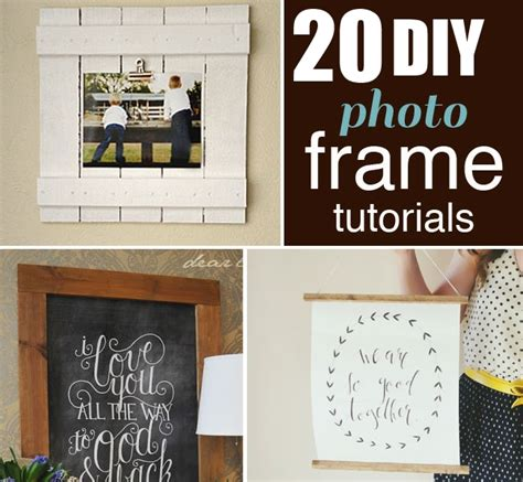 Awesome 12 Ideas Of Framed 20 Awesome Diy Photo Frame Ideas Diy Home Things