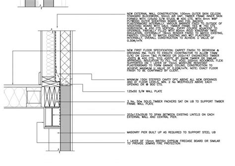 Floor Plans 3 Bedroom extension over a single skin garage diynot forums