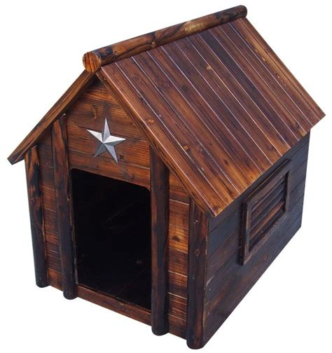 cabin dog house log cabin dog house too cute i wish list pinterest