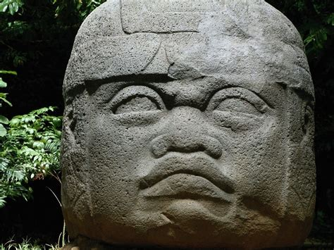 cabeza olmeca tabasco by mexemperorramsesii on deviantart miscellaneous olmec stone head parque museo la venta