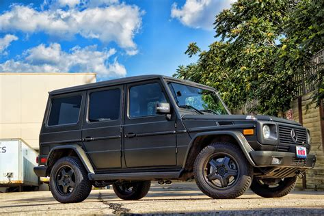 mercedes g wagon matte black matte black g wagon mercedes g55 amg black powder