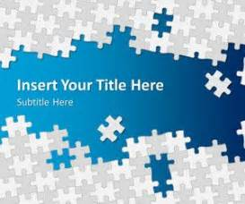 free puzzle pieces powerpoint templates free ppt
