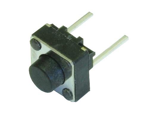 Push On Senter 2pin mini push button switch 2 pin qty 4