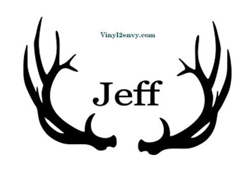 Initial Wall Stickers deer hunting decal with skull car decal vinyl car decals