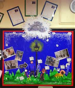 creative teaching displays the the witch and the